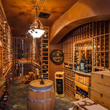 Mediterranean Wine Cellar by Dennis Mayer, Photographer