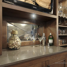 Traditional Wine Cellar by Jill Frey Kitchen Design