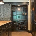 Brookside Eagles Nest Traditional Home Bar