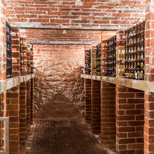 Photo of a rural wine cellar in Kent.