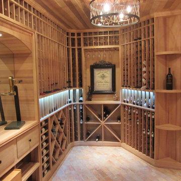 Bryn Mawr wine cellar