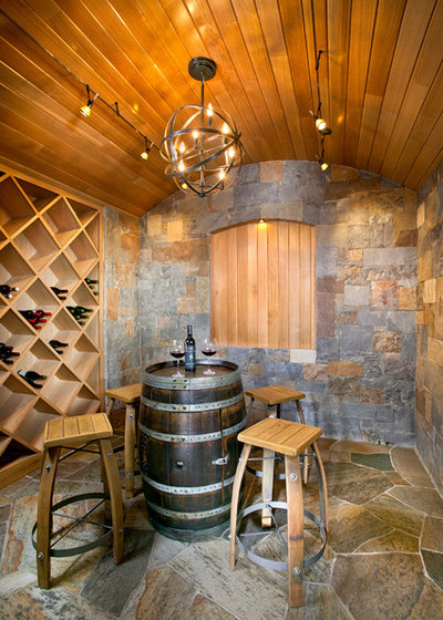Mediterranean Wine Cellar by New Mood Design LLC