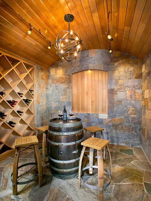 Wine Barrel Table Home Design Ideas, Pictures, Remodel and Decor