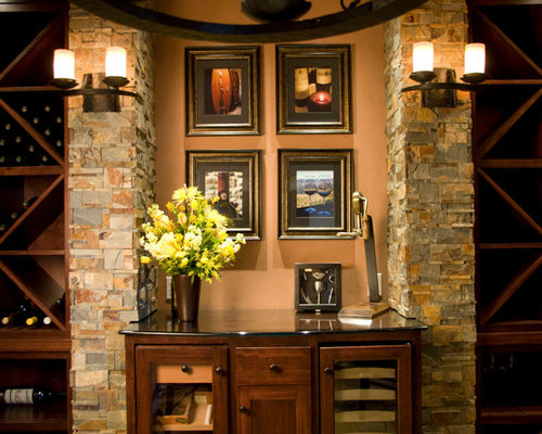 Mediterranean Portland Wine Cellar Design Ideas, Remodels ...