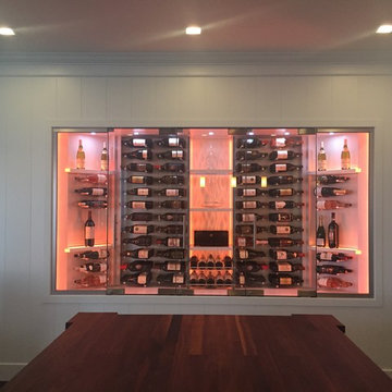 Built In Wall Wine Cabinet