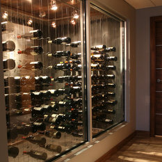 Modern Wine Cellar Ottawa Property of Cable Wine Systems Inc.
