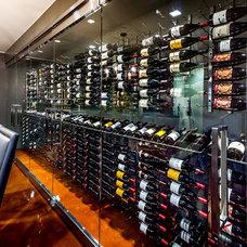 Modern Wine Cellar by mark pinkerton  - vi360 photography