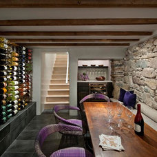 Mediterranean Wine Cellar by R Brant Design