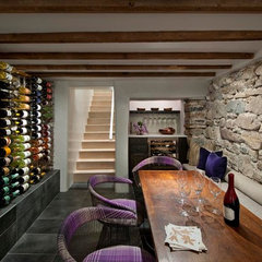 modern wine cellar by R Brant Design