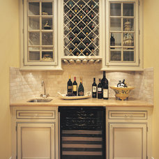 Traditional Wine Cellar by Canyon Creek Cabinet Company