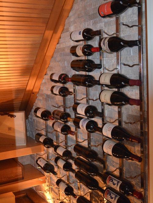 Photos et id es d co de caves vin classiques rangement sous escalier - Cave a vin sous escalier ...