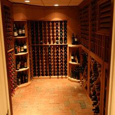 Traditional Wine Cellar by WineRacks.com
