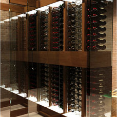 Contemporary Wine Cellar Cave a Vin Design