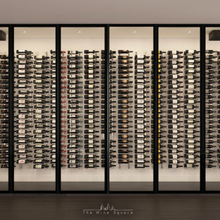 CAVEA- First Engineered Glass Wall for Wine Cellar