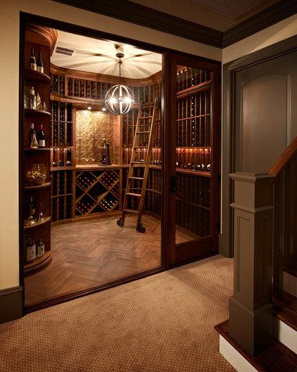 Traditional Wine Cellar by Carolina Design Associates, LLC