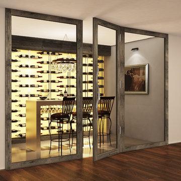 Cellar Maison wine walls