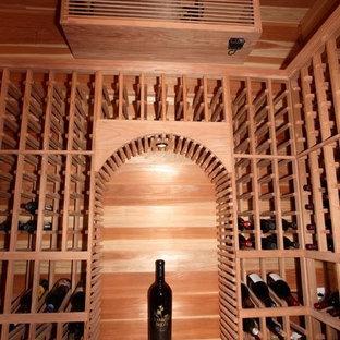 Inspiration för rustika vinkällare