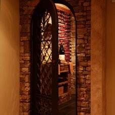 Mediterranean Wine Cellar by CellarMaker