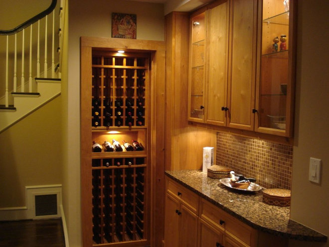 Traditional Wine Cellar by CellarMaker