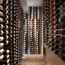Modern Wine Cellar by CellarMaker