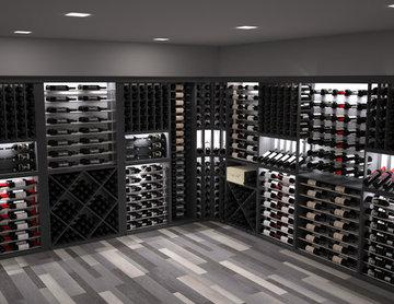 CellarVue Modern Wine Room