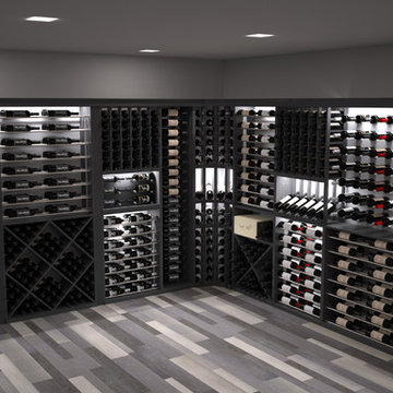 CellarVue Modern Wine Room