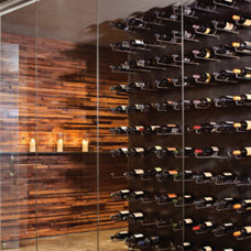 Contemporary Wine Cellar by Joel Kelly Design