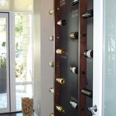 Contemporary Wine Cellar by Portico Design Group