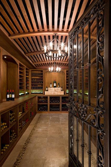 Traditional Wine Cellar by Neumann Lewis Buchanan Architects