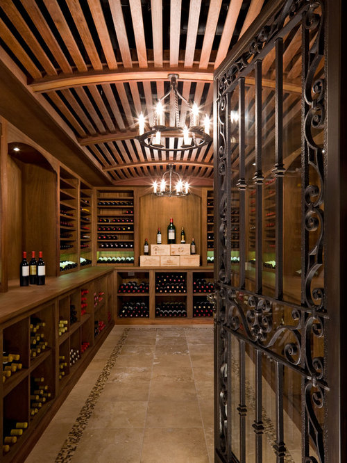Wrought Iron Wine Cellar Door Houzz
