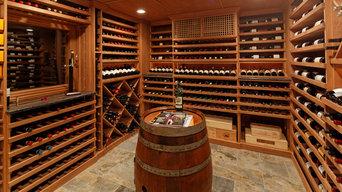 Chester NJ-Wine Cellar Racking