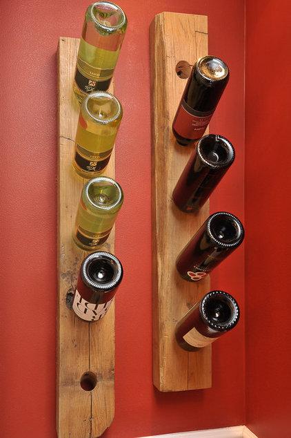 Rustic Wine Cellar by L.Bonadies General Contracting