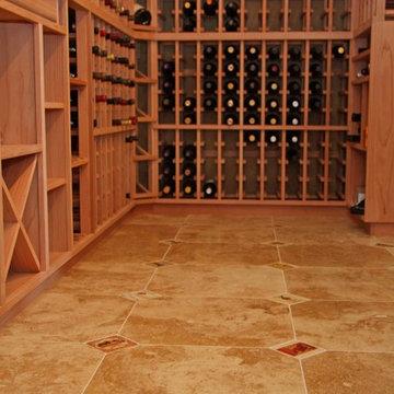 Classic Midcentury Wine Cellar