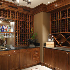 wine cellar by Matthew MacCaul Turner