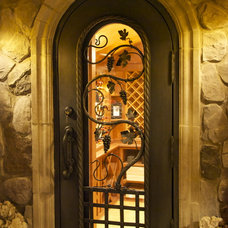 Eclectic Wine Cellar by Keuka Studios, Inc