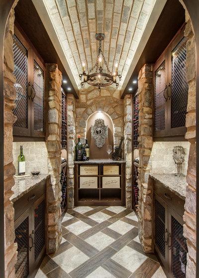 Mediterranean Wine Cellar by Nashville Wine Cellars