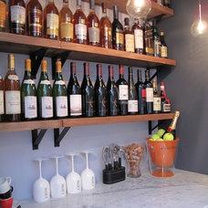 Contemporary Wine Cellar by Ecostruct LLC
