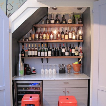 Closet/Wine Bar Conversion