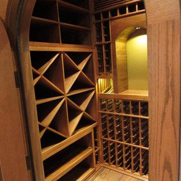 Closet Wine Cellar Design