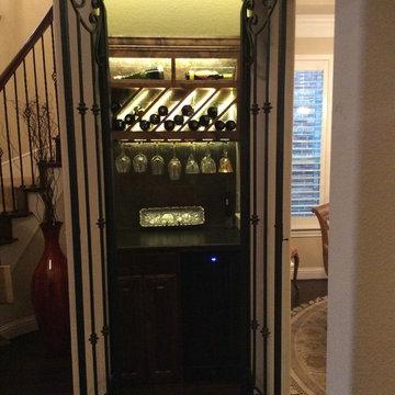 Coat Closet to Wine Cellar