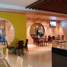 Modern Wine Cellar by GOEV