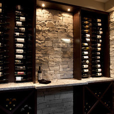contemporary wine cellar by Progressive Concept Design