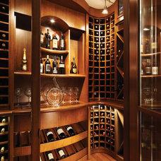 Contemporary Wine Cellar by La Strada