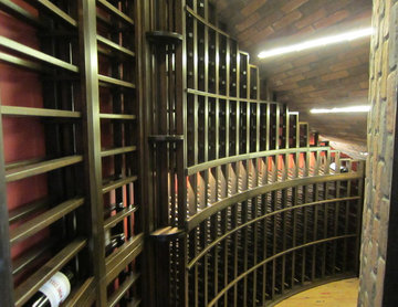 Completed Custom Wine Cellar Cooling Project for a Home in Dallas