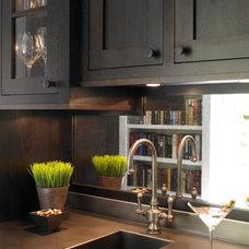 Contemporary Wine Cellar by Christine Donner Kitchen Design Inc.