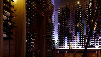 Contemporary Custom Wine Cellar (3000 bottles)
