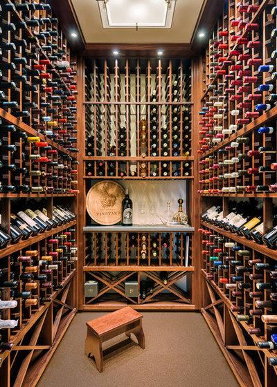 Fusion Wine Cellar by Eberlein Design Consultants Ltd.