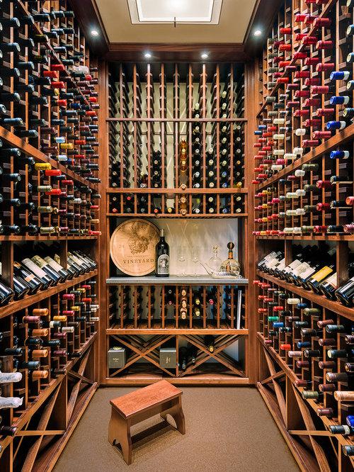 10 best cork floor wine cellar ideas photos houzz for Wine cellar flooring options