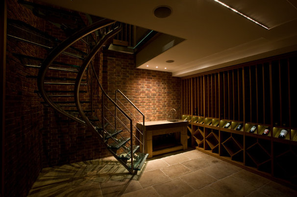 Contemporary Wine Cellar by Hill Mitchell Berry Architects