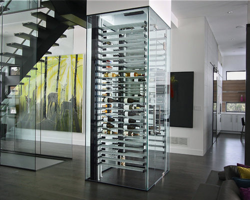 Glass Wine Cellar Home Design Ideas, Pictures, Remodel and ...